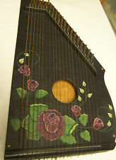 OLD FASHIONED DECORATIVE HAND HELD HARP WALL HANGING