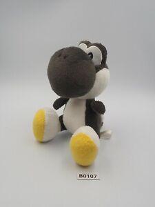 "Yoshi Yossy B0107 BLACK Island DS Super Mario Sanei Plush 6"" Toy Doll Japan"
