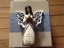 PRAYER ANGEL FIGURINE BY PAVILION ELEMENTS 5.5 INCHES FREE U.S. SHIPPING