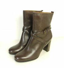 MARC O'POLO Luxus Stiefelette Boots High Heels Braun Gr. UK 5 EU 38 (N18)