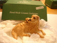 ROYAL DOULTON RETRIEVER AND PUP  BNIB  MADE IN ENGLAND