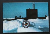US USA Marine AK U.S.S. SPADEFISH SSN-668 submarine U-Boot Nuclear Powered !!