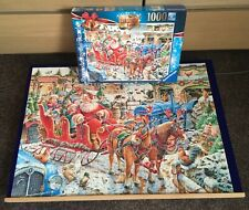 Ravensburger. Christmas Farm 1000 Piece Jigsaw Puzzle