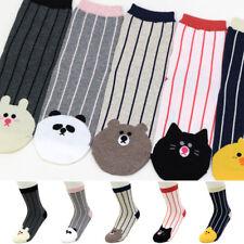 5 Pairs Animals Patterns Character Socks Women Girls Casual Socks MADE IN KOREA