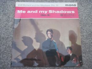 CLIFF RICHARD AND THE SHADOWS Me And My Shadows (No 3) EP 1961 superb EX