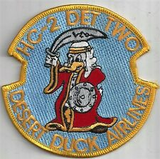 USN HC-2 DET TWO PATCH -            'DESERT DUCK AIRLINES'                 COLOR