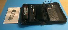 Vintage 90's Motorola Bag Phone--Case, Handset, Battery, Antennae