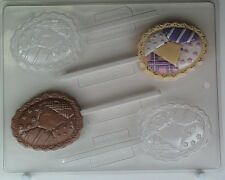 Easter Chocolate Mould - Patchwork Quilt Easter Egg