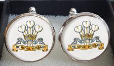 Royal Hussars Regiment (RHR) Cufflinks - A Great Gift
