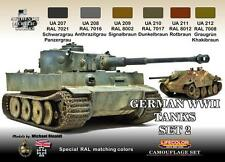 LIFECOLOR GERMAN WWII TANKS CAMOUFLAGE SET.2 cod.CS03