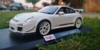 MAISTO 1:18 Scale Porsche 911 GT3 RS 4.0 Special Edition Sports Car white