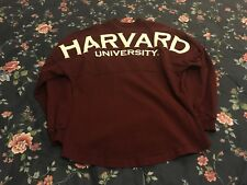 VTG 90s Harvard Ivy League Sweatshirt Sz M Red White Rare Sold Out