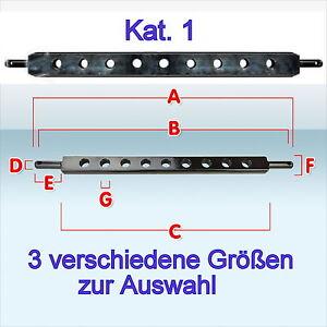 Ackerschiene Kat. I KAT 1 540 ? 720 ? 800 mm Acker-Schiene Traktor Auswahl Neu