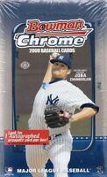 2008 Bowman Chrome Baseball Factory Sealed Hobby Box