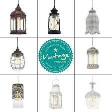 Eglo - Pendelleuchten Vintage Hängeleuchte Retrolampe Design Retro Laterne Lampe