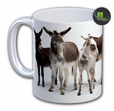 Personalised DONKEY Mug Cup.Personalise With Name& Text FOC - IL479