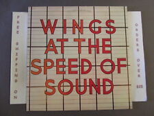 PAUL McCARTNEY WINGS AT THE SPEED OF SOUND LP W/ SILLY LOVE SONGS SW-11525