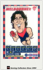 2007 AFL Teamcoach Trading Card Star Wild SW10 Travis Johnstone (Melbourne)
