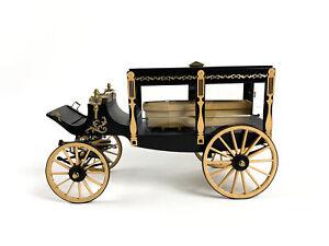 Model Trailways 1895 Horse-Drawn Hearse Wagon Wood & Metal 1:12 Scale