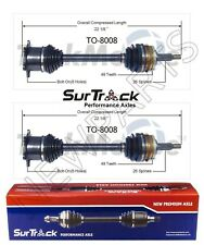 For Toyota Previa AWD 1991-1997 Pair of Front CV Axle Shafts SurTrack Set