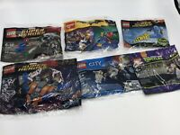 LOT 6 Polybag LEGO Sets Batman Dr Freeze 30603 Spider-Man Minifigure TMNT Marvel