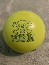 DV8 Poison Bowling Ball 15lb Used