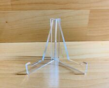 10 Pack Of (2pc) Clear Acrylic Display Stands