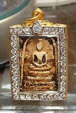 100% Genuine Phra Somdej Thai Powerful Rare Amulet With Beautiful Case