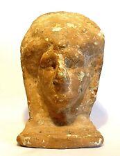 FIGURINE ETRUSQUE EN TERRE CUITE - 200 AD - ANCIENT ETRUSCAN VOTIVE FIGURE