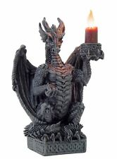 Nemesis Now Light Keeper Dragon Candlestick Candle Holder Gothic 15.5 cm