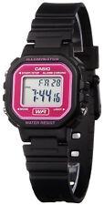 Casio Classic Black Digital Resin Strap Ladies Watch LA-20WH-4A