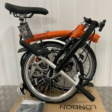 2020 BNIB BROMPTON Orange / Black S3L FOLD BIKE 3 Speed Worldwide🌎 P&P 📦📮📩