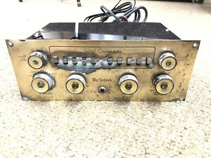 mcintosh c8 mono preamp AS IS NON-WORKING