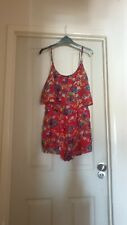 Floral New look playsuit size 12