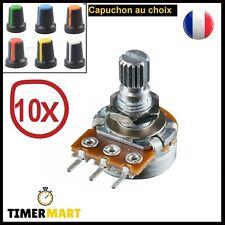 Potentiomètre B10K WH148 Linéaire diam 6mm L15mm Arduino PIC ARM STM TimerMart