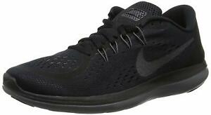 Nike Women's Flex 2017 RN Black/MTLC/Hematite/Anthracite Running Shoe # 005