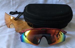 Aspex Sun Glasses Set, Changable Lenses. Case.