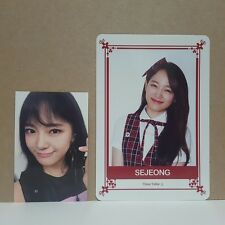 Gugudan Sejeong Act.1&2 Official Photocard 2p