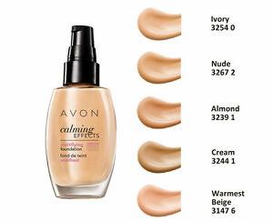 Avon Mattifying Foundation Calming Effects - Semi-covering - Normal Skin - 30ml