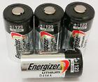 [USA] 4 Energizer 3V CR123A Batteries for Camera, Flashlight etc Expiration 2024