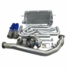 Turbo Intercooler Downpipe Oil Line Kit For 1986-1992 Supra 7MGTE MK3