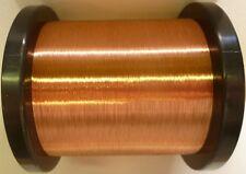 0.10mm - Cable de bobina de cobre esmaltado, Imán de Alambre, alambre de la bobina - 1500g