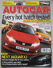 Autocar 21/2/2007 featuring Audi S3, Mini Cooper, VW, Seat, Renault, Maserati