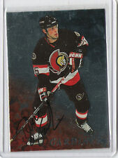 1998-99 BE A PLAYER AUTO BRUCE GARDINER AUTOGRAPH IN THE GAME 97 SENATORS