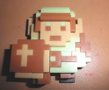 WORLD of NINTENDO mini LINK 8-bit Figure LEGEND of ZELDA video game toy JAKKS