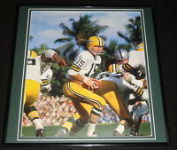 Bart Starr Framed 12x12 Poster Photo Packers Super Bowl II