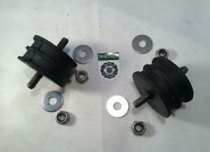 Land Rover Series 2 2a 3 Engine or Gearbox Mounts Includes Nyloc Nuts & Washers