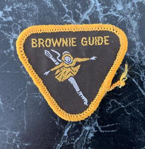 Vintage Brownie Girl Guide Patch Badge ~ Dancing