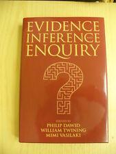 Evidence, Inference and Enquiry - eds. P. Dawid, W. Twining, Mimi Vasilaki