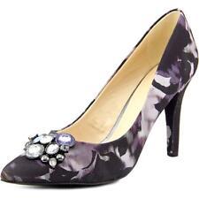 b13a5ba9bcc BRAND NEW Nine West Gazebo 2 Women Purple Pointed Toe Canvas Heels US 5.5